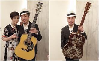獨/寇乃馨寵夫無極限!買360萬「吉他之最」送老公黃國倫
