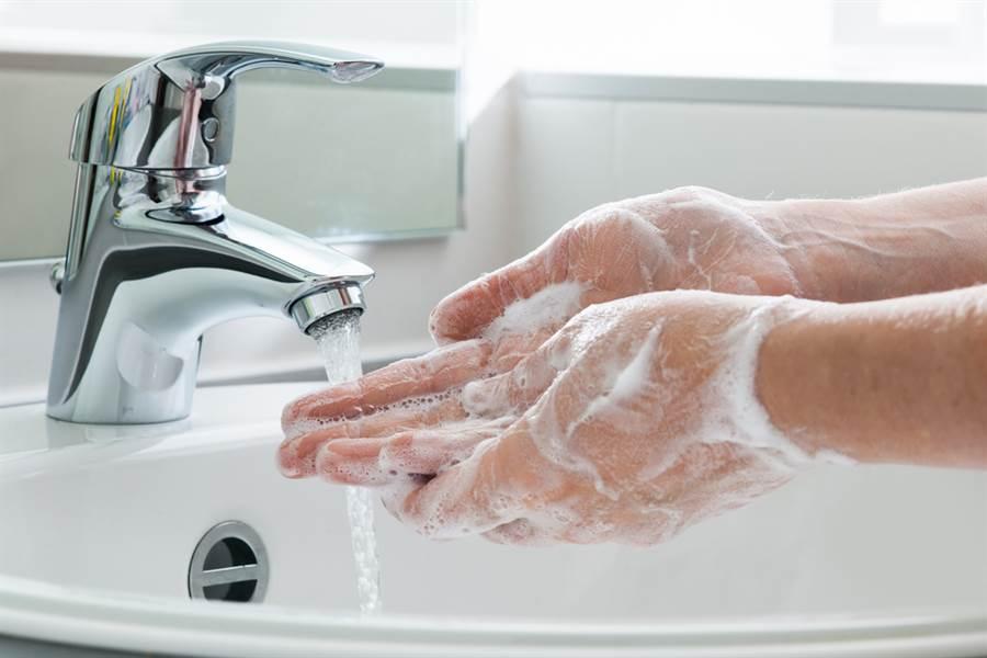 圖為洗手 。(達志)