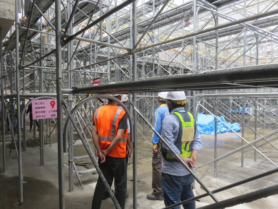 台中市府勞工局要求營造工地應落實安全自主檢查。(台中市府提供/盧金足台中傳真)
