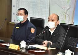 媒體放大檢視高雄治安 韓國瑜為警察、眷屬叫屈