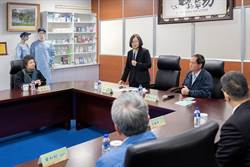 蔡英文:未來政府所需防疫物資 以國內製造為主