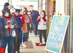 經濟部宣布 口罩銷售據點量倍增