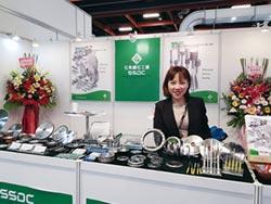 石秀鑽石工具擴外銷 展示多款客製化產品