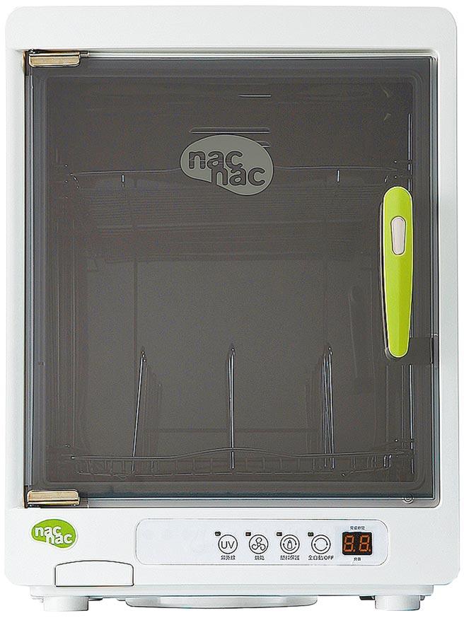 Yahoo奇摩購物中心的nac nac紫外線消毒烘乾機,站上熱銷第1名,特價3198元。(Yahoo奇摩購物中心提供)