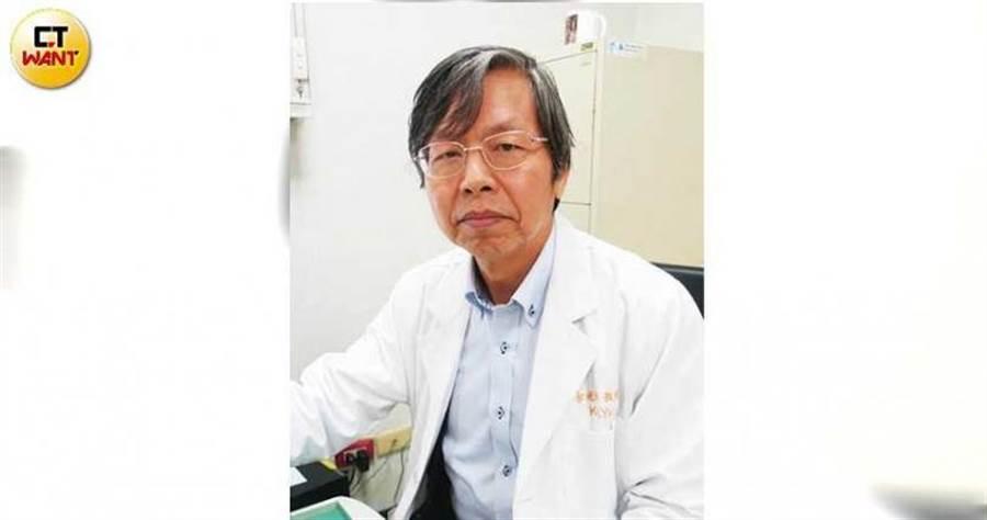醫師余光輝表示,多數痛風患者輕忽疾病嚴重性,往往病況相當嚴重才願意服藥治療。(圖/張雅淳攝)
