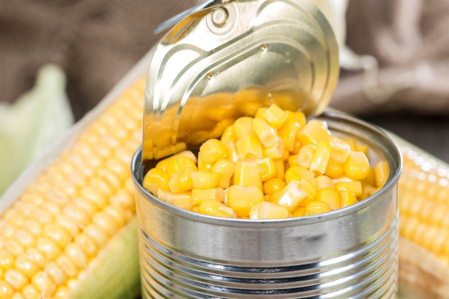 玉米罐頭有幾根玉米?實測網看傻(示意圖/達志影像)