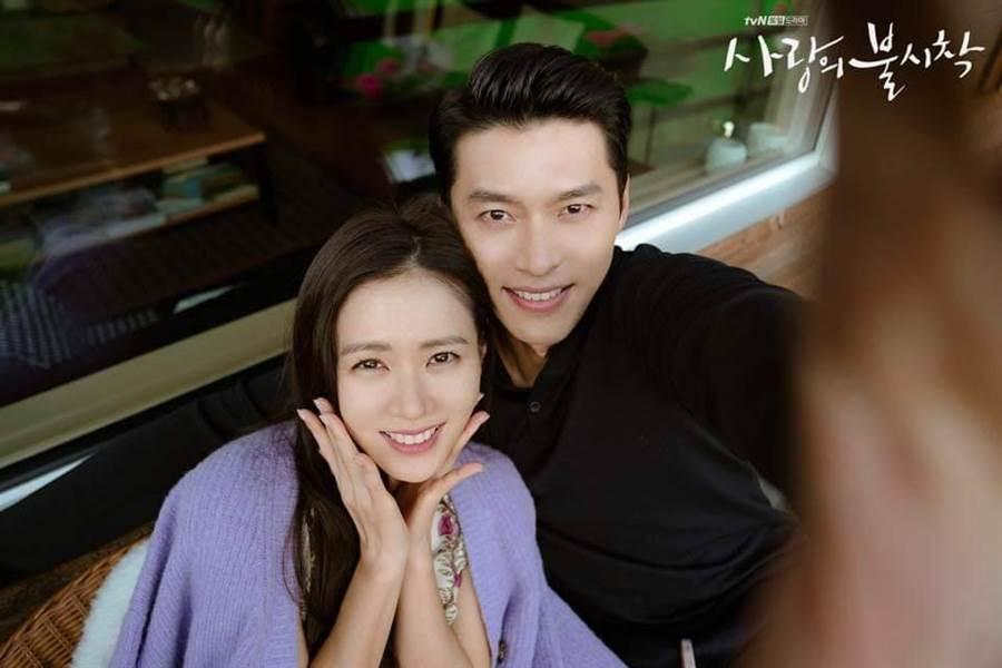 兩人殺青宴上的合照也相當可愛。(圖/翻攝自tvN)