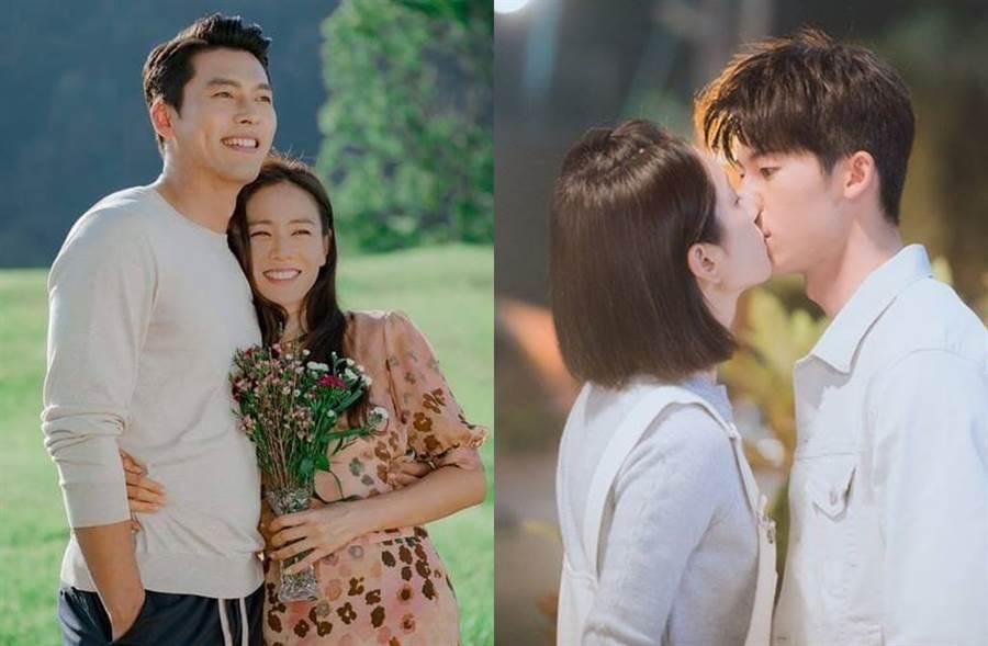 《愛的迫降》(左)與《想見你》(右)兩大夯劇同時結束,《中時電子報》推薦您好戲幫你即刻補上。(圖/翻攝自tvN;想見你粉專)