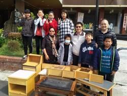 職訓學員手作木工家具 連三年贈社福單位獲好評