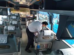 臺北區監理所加強防疫 旅客放心搭大眾運輸
