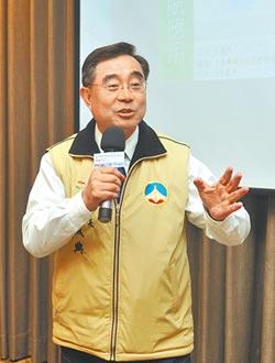 郁慕明卸任 吳成典接新黨主席