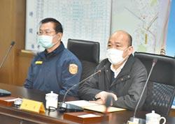 高市犯罪穩定降低 韓勉警察與眷屬