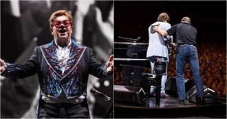 英樂壇巨星也染上肺炎 唱一半失聲…掩面痛哭被扶下台