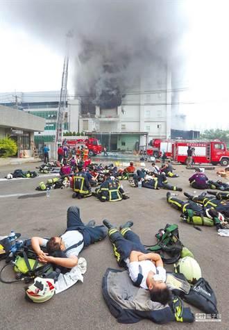 敬鵬大火遭糾正消防局喊冤:不可歸責於指揮官