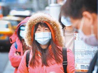 一路冷到周三 全台急凍 低溫下探5度
