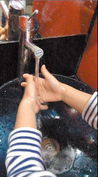 勤洗手7字口訣 切記要擦乾