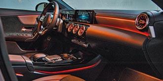 Mercedes-Benz CLA視覺系 乘坐空間改善
