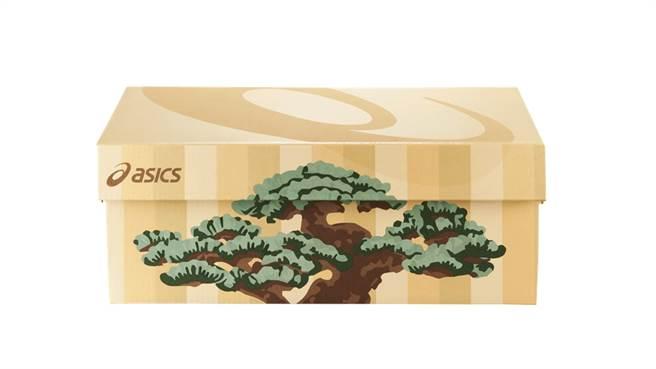ASICS 2020東京馬拉松聯名系列鞋盒。(圖/品牌提供)