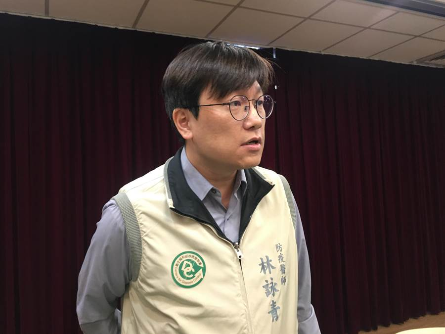 疾管署防疫醫師林詠青。(林周義攝)