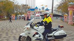 中市交警添購重機護具 安心拚治安