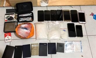 海洛因摻鹽被檢舉  警逮三蘆大毒販「五齒」