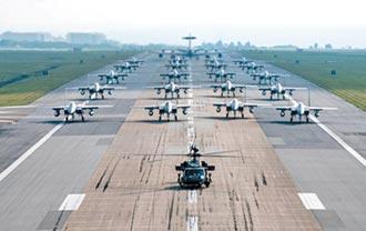 避免全殲滅 美分散亞太戰機部署