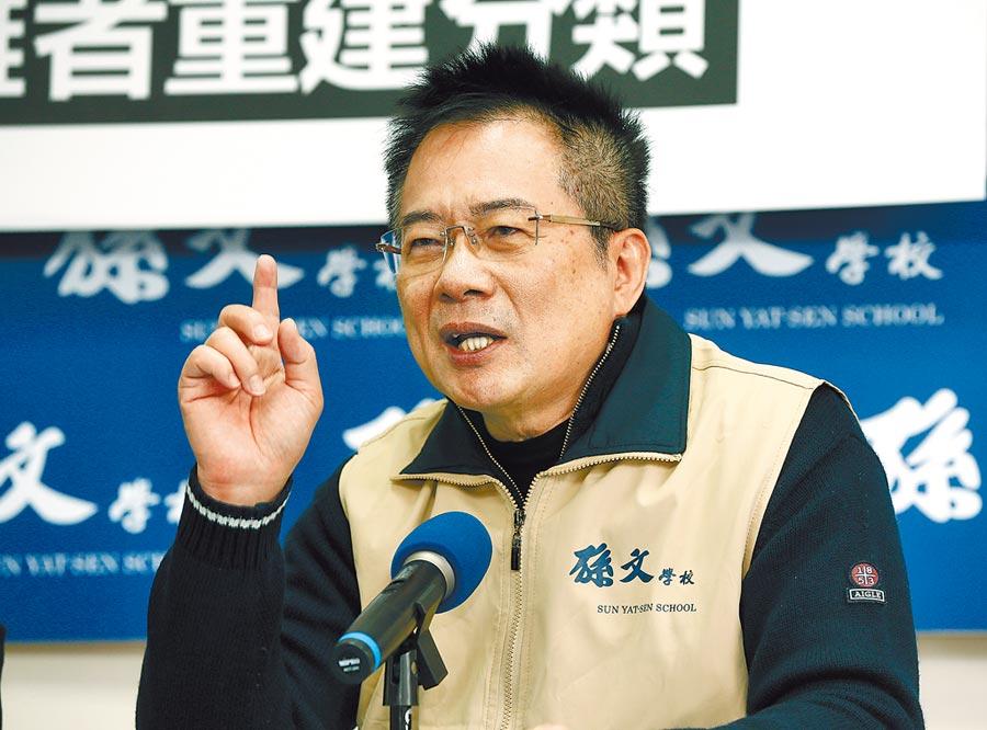 國民黨前副祕書長蔡正元。(本報系資料照片)
