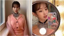 IU透視禮服飄仙氣!風一吹裙襬掀起洩春光引百萬讚