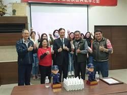 為員警健康把關 生技公司贈南市警4680瓶乾洗手液