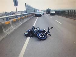 黃牌重機擦撞油罐車 騎士命喪「窮人高速公路」