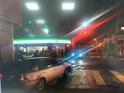 毒蟲拒檢駕車高速逃 闖紅燈撞2車遭困落網