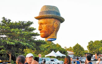 梵谷熱氣球 人氣奪冠