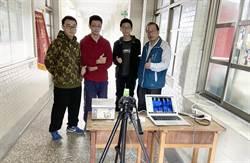 基隆》校門像過海關 學子自製紅外線體溫儀
