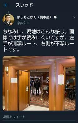 日大臣得意秀鑽石公主船內防疫照 網一看氣炸:難怪會失控