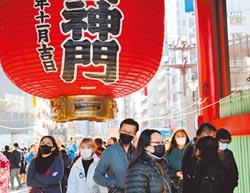 日本行別大疫 擬升為2級警示