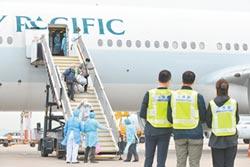 機組員免隔離 港包機引爭議