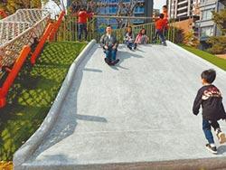 柳堤公園重開放 滑梯要微調