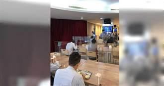 獨》中鋼防疫出大絕 員工餐廳設隔板避口沫傳染