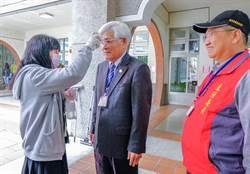 中選會主委李進勇視察竹東鎮長補選