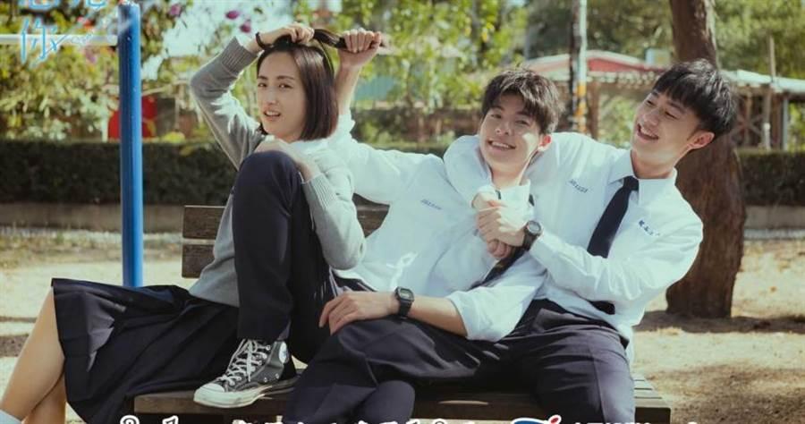 《想見你》由柯佳嬿(左起)、許光漢、施柏宇三人主演。(圖/中天娛樂台提供)
