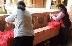 嘉義市開學準備好了 學校卸省水閥足量供水勤洗手