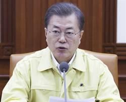 韓總統文在寅:新冠肺炎疫情提升至最高級別