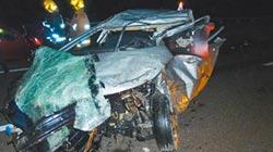 車禍逃生求援 後車追撞奪命