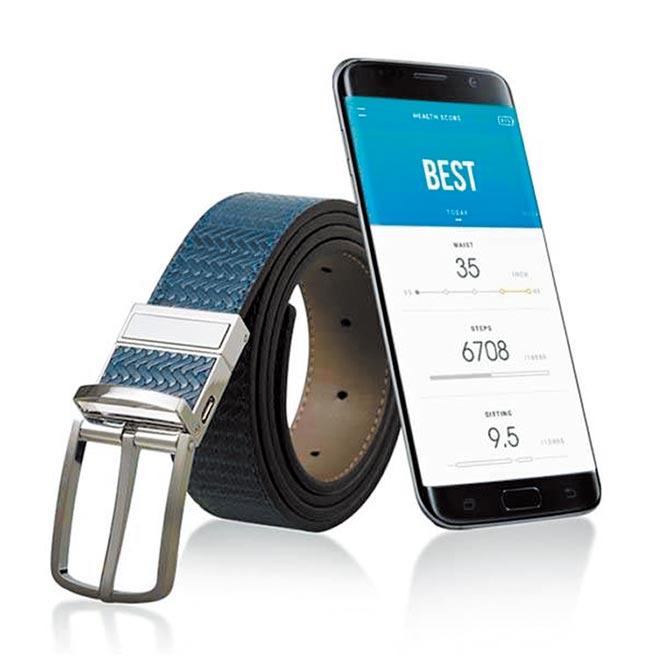 韓國的新創公司WELT Corp.,發表具跌倒風險管理功能的智慧皮帶SMART BELT PRO。圖/載自官網