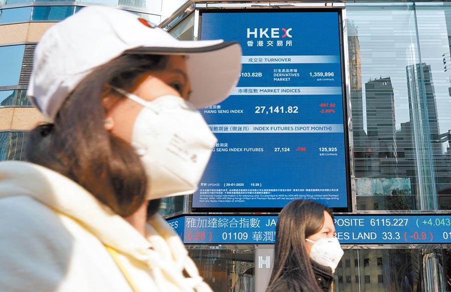 1月29日,香港股市迎來鼠年第一個交易日。(中新社)