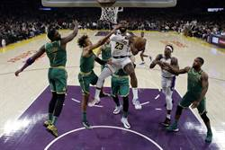 NBA》驚險復仇!詹皇致勝跳投氣走綠軍