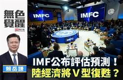 無色覺醒》賴岳謙:IMF公佈評估預測!陸經濟將V型復甦?