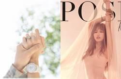 空姐歌手潘嘉麗曬大鑽戒宣布脫單結婚了!