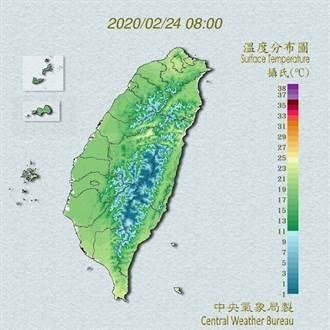 吳德榮:週三晚鋒面影響 北台恐降雨