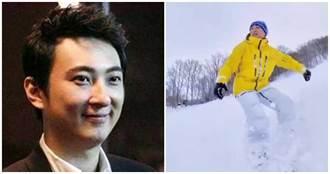 負債87億還炫富!王思聰日本滑雪 爽喝天價「傳奇白酒」